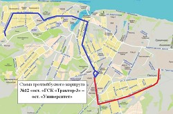 Схема движения маршрутки 266 чебоксары новочебоксарск схема